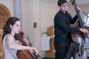 Concert de la Société pour les arts en milieux de santé au CSSS de Jeann-Mance, 18 octobre 2014